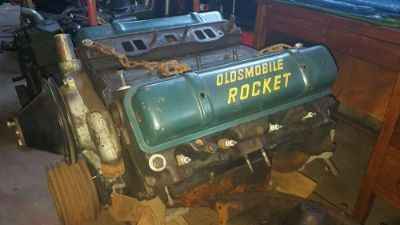 Purchase 1953 Oldsmobile Rocket Engine motorcycle in Bozrah, Connecticut, United States