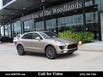 2018 Porsche Macan S (Palladium Metallic)