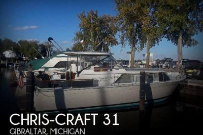 1966 Chris Craft 31 Commander