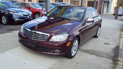 2008 Mercedes-Benz C-Class C300 (Barolo Red Metallic)