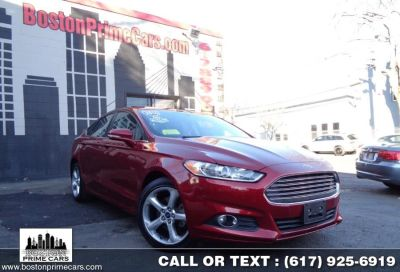 2016 Ford Fusion SE AWD SUNROOF/STARTER (Ruby Red Metallic Tinted Clearcoat)