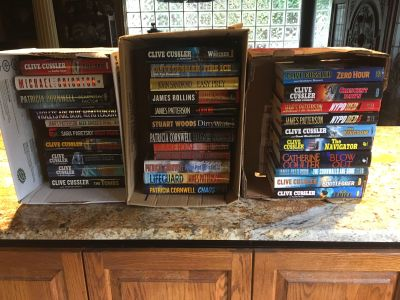 32 Hardcover Fictional Books