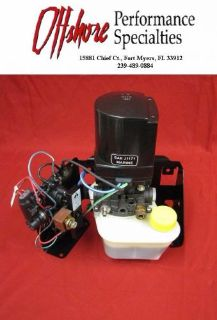 Find MerCruiser Power Trim Pump/Tilt Assembly 865380A25 - USED motorcycle in Fort Myers, Florida, United States, for US $335.00
