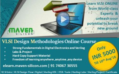 Register for Online VLSI DM Certification Course only for 5000 Rs.