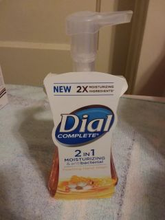 Dial complete two-in-one moisturizing in antibacterial Foaming Hand Soap