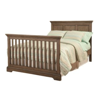 Westwood Design Hanley Full Size Bed Rails in Cashew w/support slats - Part of 4-in-1 Convertible Crib Collection