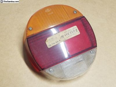 NOS German 73-79 Beetle Bug Thing Tail Light Lense