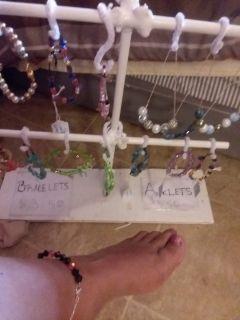Handmade jewelry- anklets/bracelets