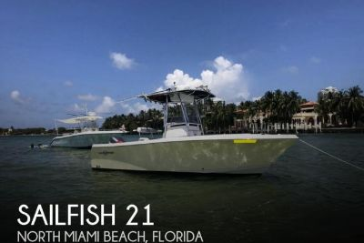2004 Sailfish 218 CC