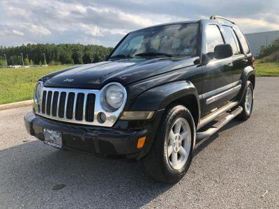 2005 Jeep Liberty Limited (Black)