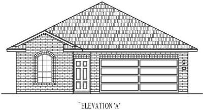 105 Helen RD Hutto Three BR, CastleRock Communities Aires plan