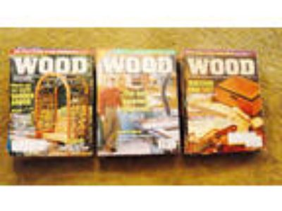 Wood Magazine 38 Back Issues (Feb 1994 to April 2001)