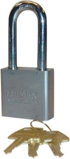 """Buy TRIMAX SOLID STEEL PADLOCK - 1.25"""" X 10MM SHACKLE TPL175S 50mm square body motorcycle in Loudon, Tennessee, US, for US $16.84"""