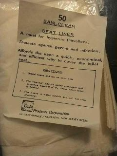 50 sani-clean seat liners