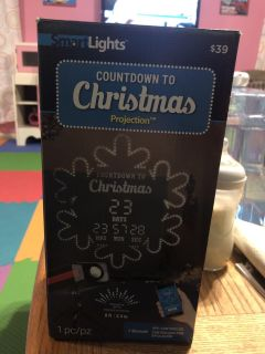 NEW! Countdown to Christmas Projection