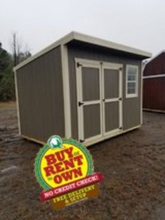 8x12 Cottage Shed