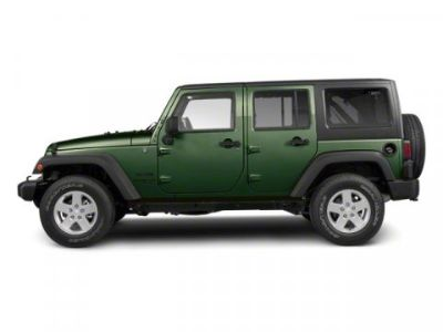 2010 Jeep Wrangler Unlimited Sport (Natural Green Pearl)