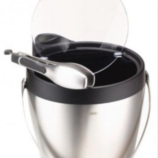 CLEARANCE ***Stainless Steel & Black OXO Ice Bucket***NEW