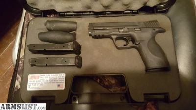 For Sale/Trade: S&W M&P 40 cal