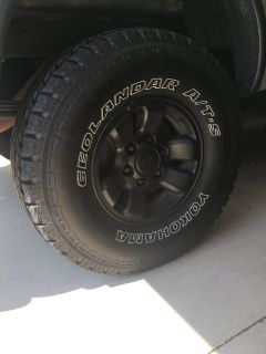 1995.5-2004 TOYOTA TACOMA WHEELS WITH TIRES