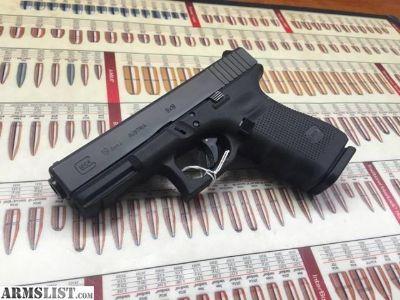 For Sale: NEW...Glock 19 Gen4 semi-auto 9mm w/ 3 mags