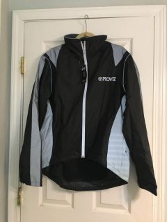 NEW highly reflective bike and motorcycle riding jacket