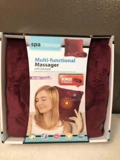 NEW IN BOX! MULTI FUNCTIONAL MASSAGER