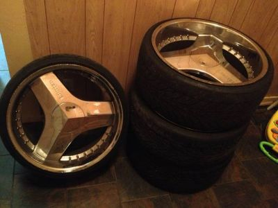 22inch rims and tires
