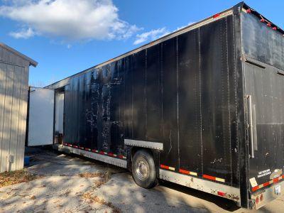 Ramp over semi trailer