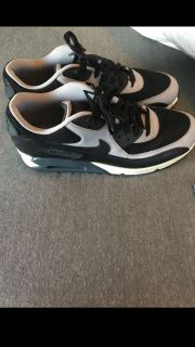 Nike Grey and Black AirMax