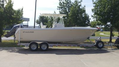 2016 Sailfish 270 CC Center Console Boats Lewisville, TX