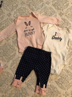 Baby girl 3 month outfit