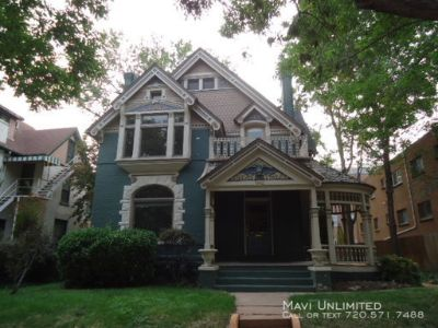 Amazing 2 bedroom Apt In Historic Colorado Painted Ladies Mansion, Available August 9th!