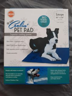Cool pad for puppy . New