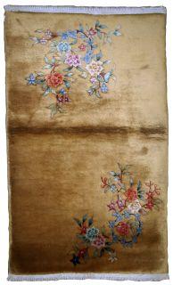Handmade antique Art Deco Chinese rug, 1B615