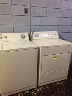 Estate (by Whirlpool) Washer & Whirlpool Dryer Set