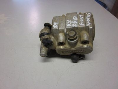 Sell 1989 89 KAWASAKI KX 250 KX250 FRONT BRAKE CALIPER ASSY. PADS motorcycle in Saco, Maine, US, for US $59.95
