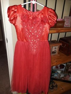 Vvguc dress up Little Red Riding Hood fits 3 to 4 year old