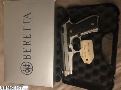 For Sale: Beretta 92 fs inox