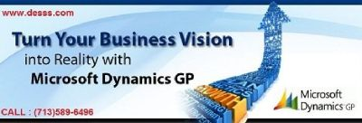 Microsoft Dynamics GP Solution Company