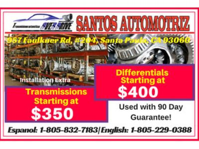 USED ENGINES TRANSMISSION AND DIFFERENTIALS, ALL WITH ...