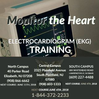 Electrocardiogram May Sound Complicated, But the Training is Not! Spend 4 Weeks for EKG Classes.