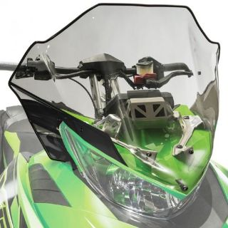 Find Arctic Cat Mid Windshield Clear Tinted with Black 2012-2017 ZR F XF M - 7639-368 motorcycle in Sauk Centre, Minnesota, United States, for US $107.99