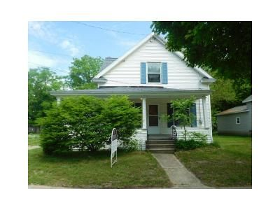3 Bed 1 Bath Foreclosure Property in Leslie, MI 49251 - Mill St