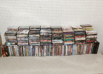 DVD, CD & Record Auction En ding 6/9