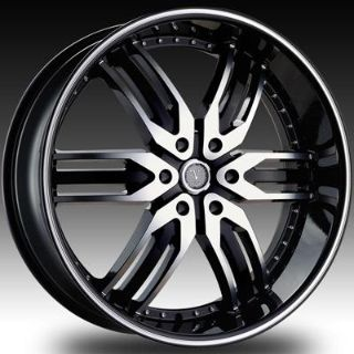 """Purchase 26"""" Velocity 125 Black Wheels Rims Tires Nissan Armada Infinity Lexus SUV motorcycle in Victorville, California, US, for US $1,179.00"""