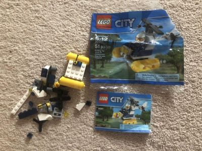 Lego set 30311 helicopter poly bag. I have double checked and all pieces are here!