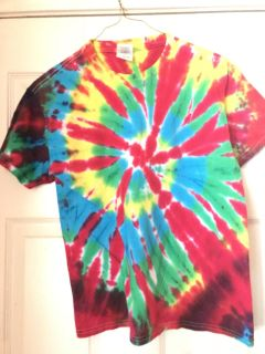 Boys Cotton Shirt - Tie Dyed