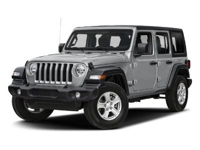 2018 Jeep Wrangler Unlimited Sahara (Black Clearcoat)