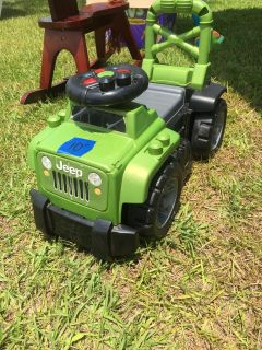 Jeep ride on toy